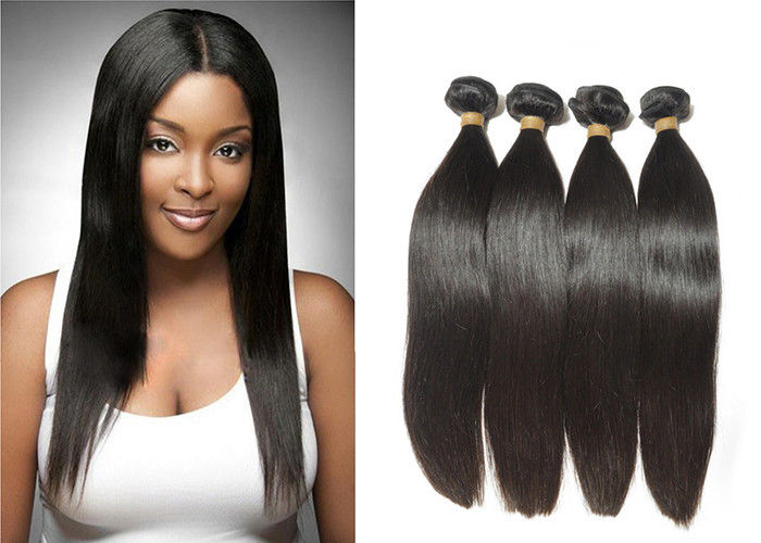 Beauty Jet Black Indian 12A Virgin Hair With Natural Clean Hair Line