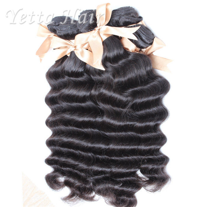 Loose Deep Wave 11A Virgin Hair Peruvian No Shedding No Tangle